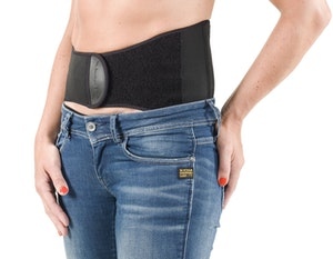 Back on track back brace with narrow front cropped