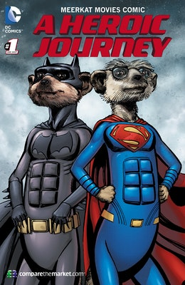 Meerkat movies comic 1 cover competition