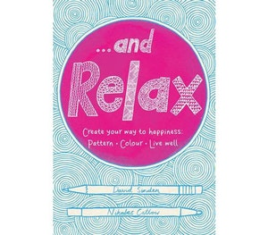Relax colouring book competition