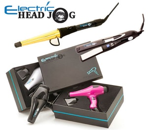 Electric head styling tools hair dryer competition