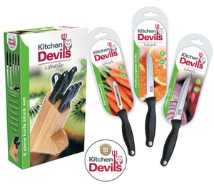 Kitchen devil knives competition