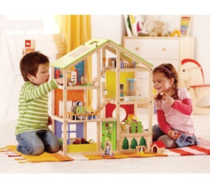 Hape all seasons dolls house competition