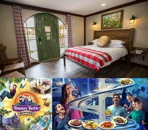 Alton towers water park woodland lodge theme park competition