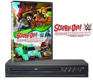 Scooby doo dvd wwe dvd player competition