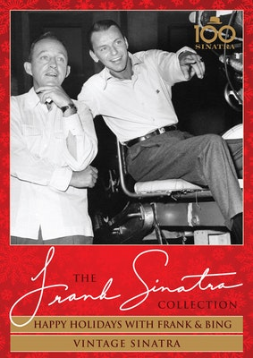 Frank sinatra happy holidays vintage dvd cover  lr