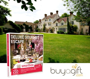 Buyagidt smartbox deluxe gourmet escape competition