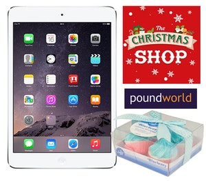 Poundworld ipad competition