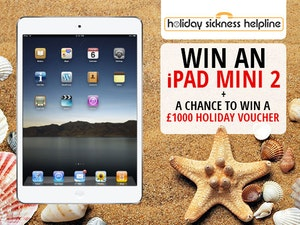 Ipad mini 2 holiday sickness competition competition