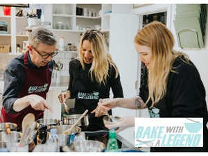 Bake with a legend competition