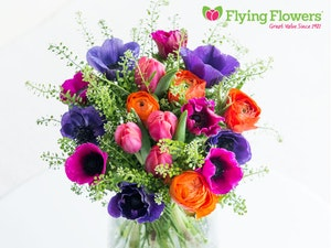 Flying flowers competition