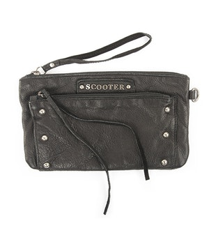 Pochette cuir scooter