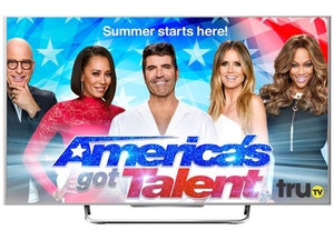 Tv 40inch smart tv amercia s got talent competition