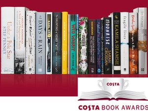 Costa book awards books  250 costa gift card competition
