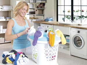 Sock sync laundry basket giveaway 1