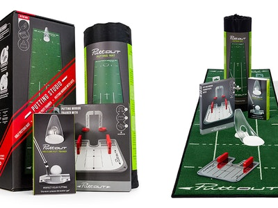 WIN ONE OF THREE PUTTOUT HOME PUTTING STUDIOS sweepstakes