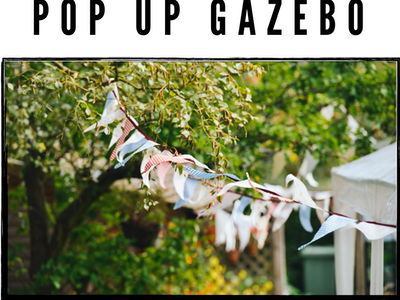 Win a Airwave Pop Up Gazebo sweepstakes