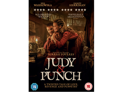 Win JUDY & PUNCH on DVD and a signed poster sweepstakes