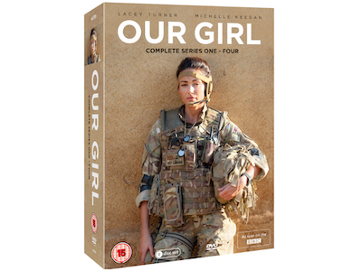 Win beloved BBC drama Our Girl Series 1 – 4 DVD Box Set sweepstakes