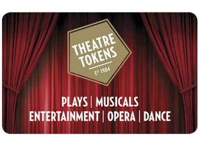 SUPPORT THE THEATRE INDUSTRY AND YOUR CHANCE TO WIN £80 IN THEATRE TOKENS! sweepstakes