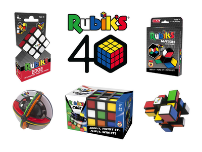 Win a bundle of boredom busting puzzles from Rubik's!  sweepstakes