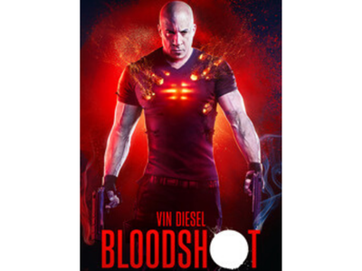 BLOODSHOT is out on Digital today! To celebrate you can win a top of the range TV sweepstakes