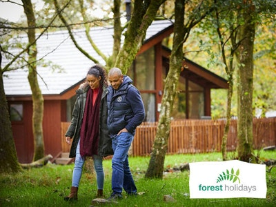 3 NIGHT WEEKEND BREAK WORTH UP TO £800 WITH FOREST HOLIDAYS!  sweepstakes