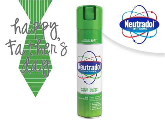 WIN WITH NEUTRADOL THIS FATHER'S DAY! sweepstakes