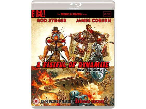 Blu-ray copy of A FISTFUL OF DYNAMITE sweepstakes