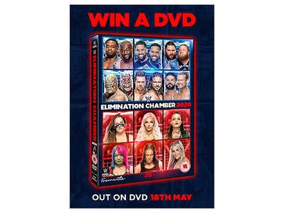 Elimination Chamber 2020 on DVD sweepstakes