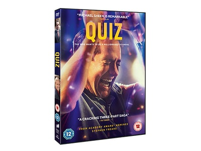 QUIZ on DVD sweepstakes