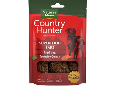 Natures Menu Country Hunter Superfood Bars sweepstakes