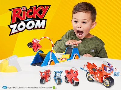 Win a Fantastic Bundle of Ricky Zoom Goodies! sweepstakes