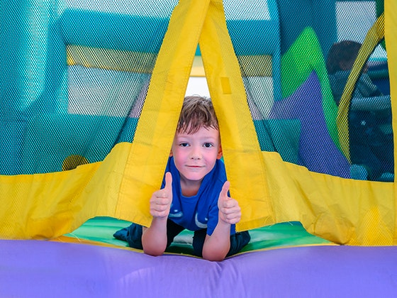 WIN a a Kids Bouncy Castle sweepstakes