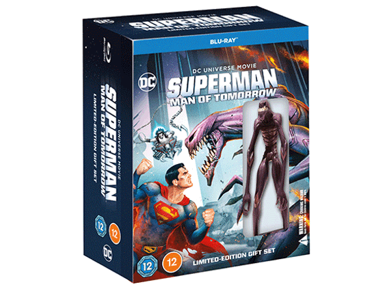 Win a Superman: Man of Tomorrow Limited-Edition Blu-ray™ with Mini-Figure sweepstakes