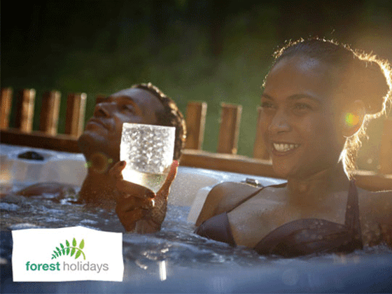 WIN A £100 TOWARDS A FOREST HOLIDAYS BREAK!  sweepstakes