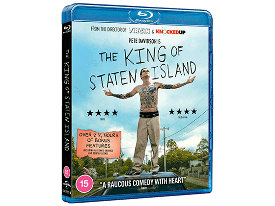 Win a signed Blu-ray copy of The King of Staten Island and a Promotional Kit sweepstakes