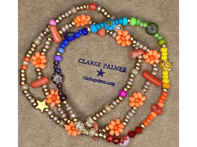 Win a stack of 5 bracelets, a necklace and pair of earrings from CLARKE PALMER sweepstakes