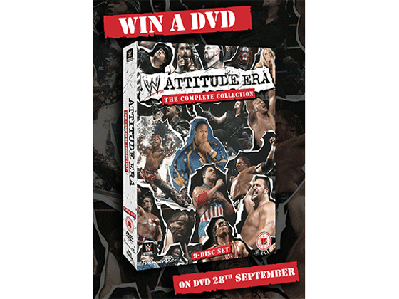 To Celebrate the DVD release of The Attitude Era: The Complete Collection -  we are giving away 5 DVD copies sweepstakes