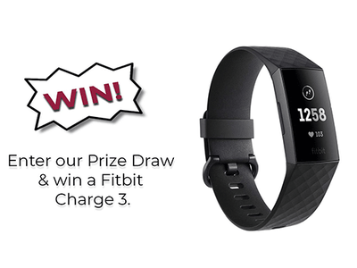 Win a Fitbit Charge 3 sweepstakes