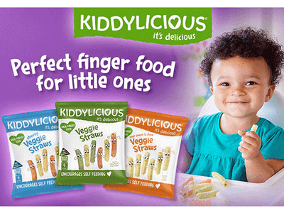 Kiddylicious: The perfect finger food for little ones sweepstakes