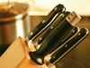 Win a Morphy Richards Accents Knife Block in a Copper finish sweepstakes
