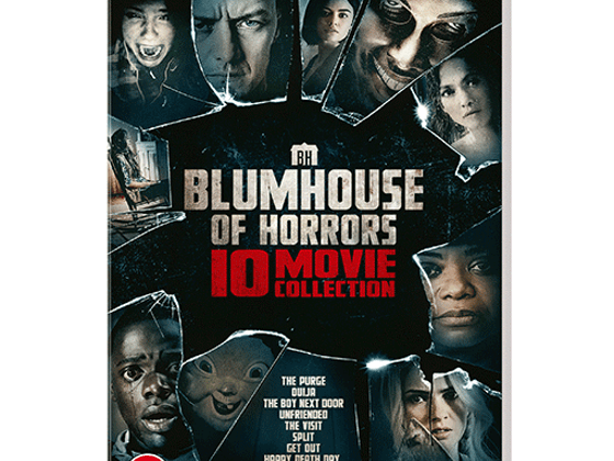 Win You Should Have Left on Blu-ray and Blumhouse collection with 'Blumhouse of Horrors' 10-Movie DVD Collection sweepstakes