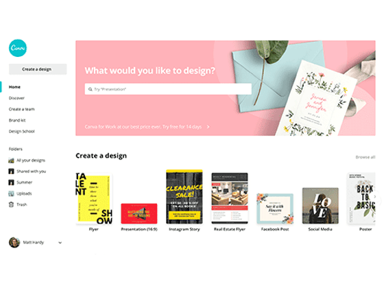 Become a Design Pro with Canva sweepstakes