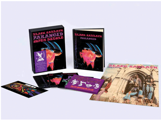 BLACK SABBATH CELEBRATE THE 50TH ANNIVERSARY OF THEIR ICONIC ALBUM 'PARANOID' - WIN A COPY OF THE 4CD EDITION sweepstakes