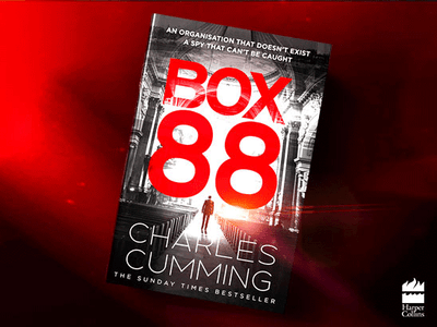 Win a Hardback copy of BOX 88  sweepstakes