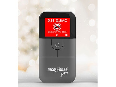 Win an AlcoSense Pro personal breathalyser for the festive season sweepstakes