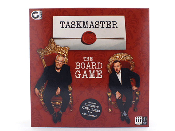 Win Taskmaster: The Board Game and Expansion pack sweepstakes