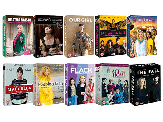 Win a Bumper Bundle of Fantastic Female-Led TV Box Sets this Christmas sweepstakes