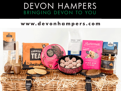 TWO CHANCES TO WIN £100 TO SPEND WITH DEVON HAMPERS THIS CHRISTMAS! sweepstakes