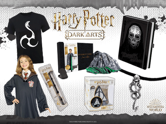 Celebrate the Dark Arts this October with these spellbinding prizes!  sweepstakes